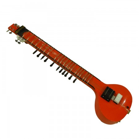 Red Electric Sitar (Style 3)