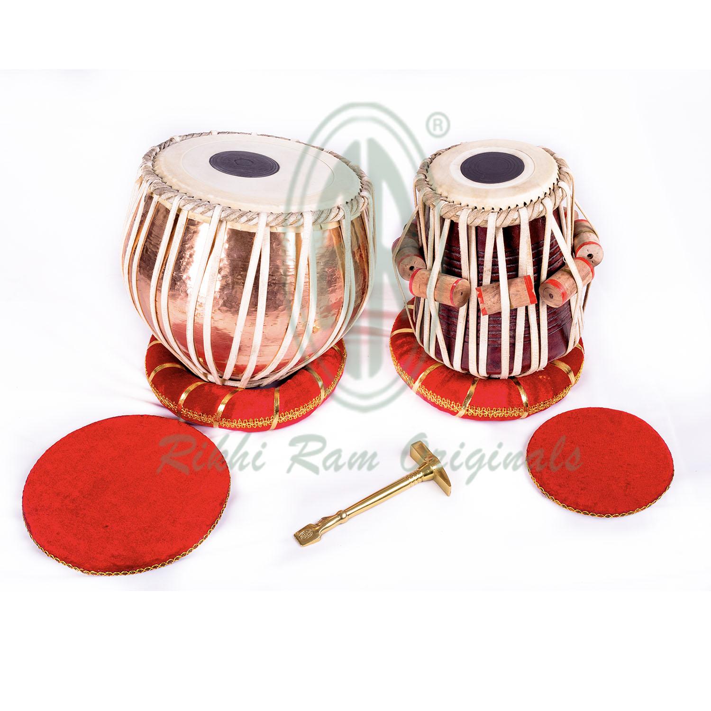 Buy Copper Bayan Tabla (Professional Model) Online, Copper Bayan